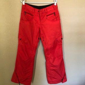 Obermeyer Red Delia Ski/Snow Pants
